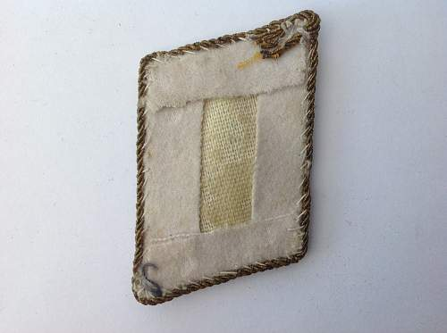 Click image for larger version.  Name:Luftwaffe Generalleutnant collar tab reverse.jpg Views:49 Size:219.8 KB ID:947679