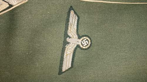 Infantry Parade tunic 154th infantry division.