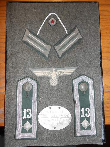 1st Pattern Insignia for the M33 Feldbluse