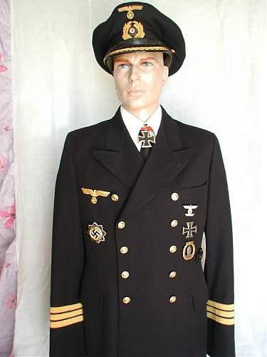 A few Kriegsmarine Uniforms