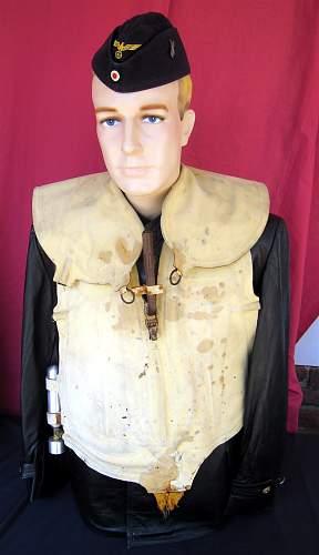 eBay auction titled 'Original WW2 Leather Coat'...