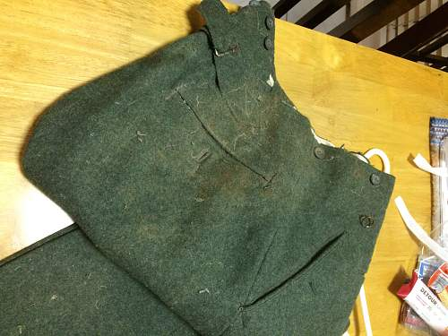 M40 Tunic out of the woodwork