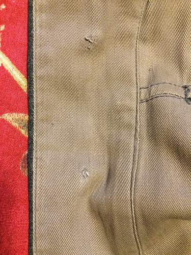 M40 Tunic Stamp question