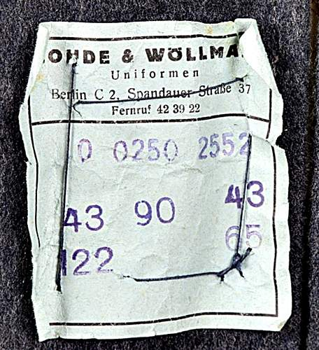 The Reichsbetriebsnummer RB numbering system.