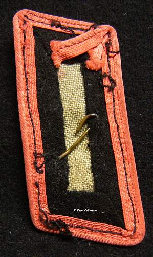 Panzer Totenkopf Collar Tab