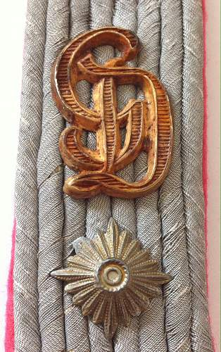 GD shoulder board for opinions