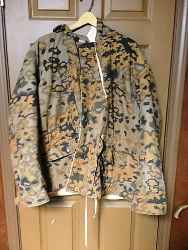 Reversable camo jacket...is it WW2 era?