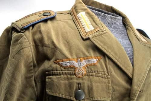 Afrika Korps Tunic Good Bad