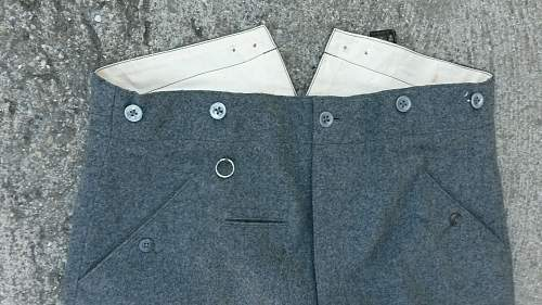 early stone gray pants