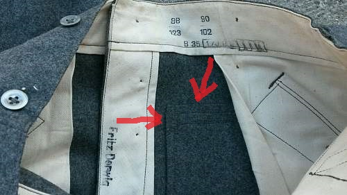 early stone gray pants