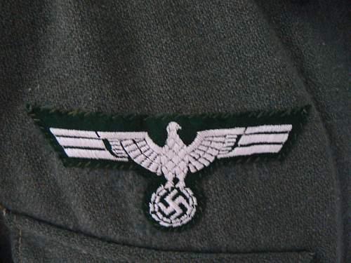 Heer Breast Eagle original?