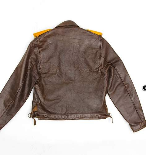 Private purchase Luftwaffe flight jacket