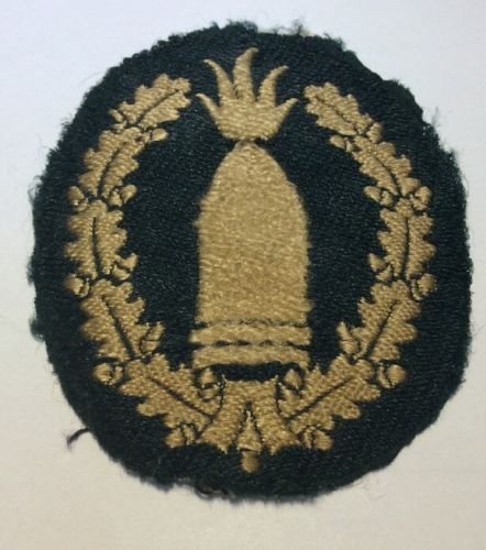 Name:  Wehrmacht Army Artillery Gunner Patch 1.jpg Views: 44 Size:  40.9 KB