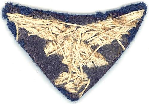 Help needed to identify luftwaffe eagle