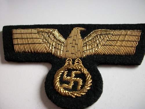 Panzer Generals breast eagle?