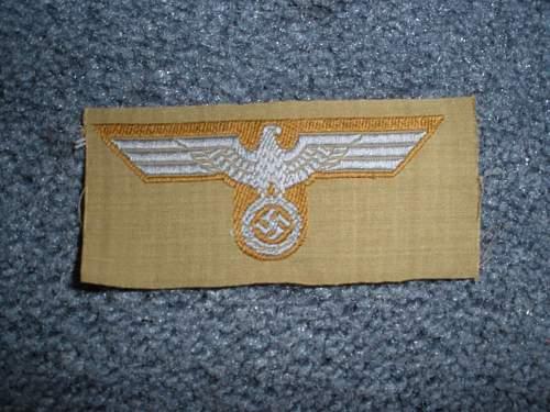 German cloth eagle