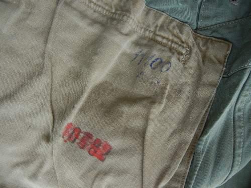 LW camo jacket..