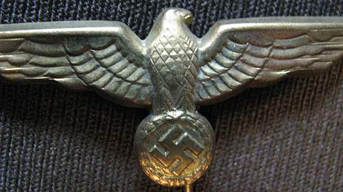 Heer and KM metal cap eagles recently acquired (good to go?)