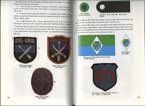 "Crimean Tartar ""self defence "" companies  arm badge ?"