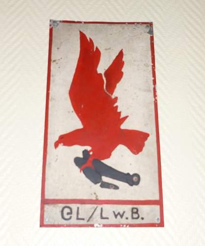 Badge of the General Luftzeugmeister Lufwaffen-Beute