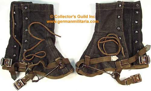 Wehrmacht officer's gaiters?
