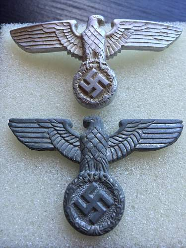 WW2 German Cap Eagles - Thoughts?