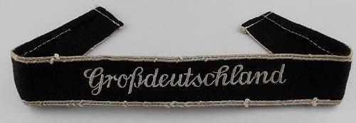 Grossdeutschland Cuff Title
