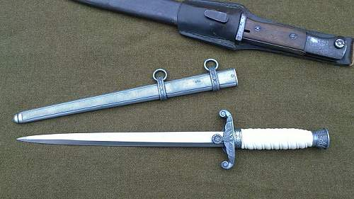 My just puchased German army dagger