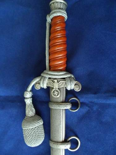 Army Dagger Tiger Untouched