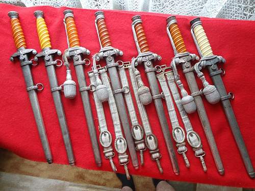 Wehrmacht daggers collection