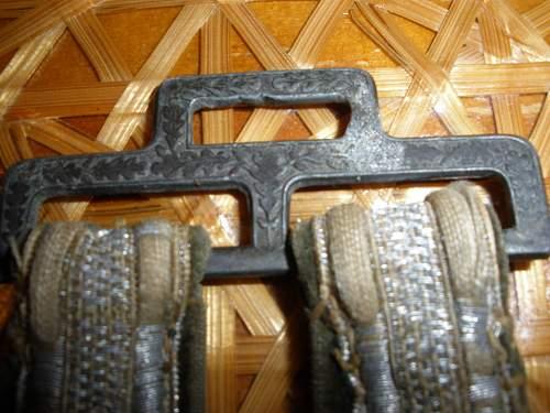 Heer Officers dagger hangers