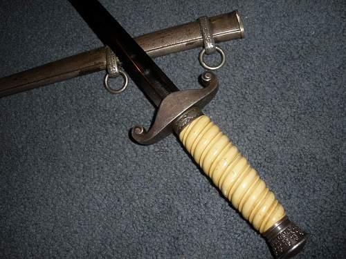 My new Heer dagger by Gebr. Heller