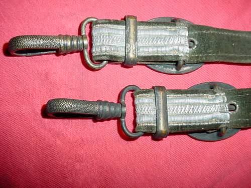 Dagger hangers antique shop find,HEER?