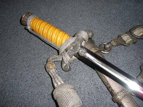 My new Heer wkc dagger