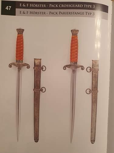 Horster heer dagger crossguard