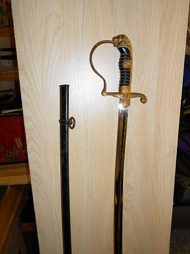 New pick up heer sword