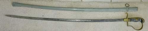 Original or Post War Heer Sword?
