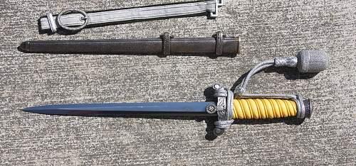 Alcoso Heer Dagger