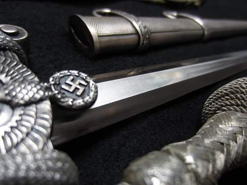 Eickhorn army dagger with ivory grip