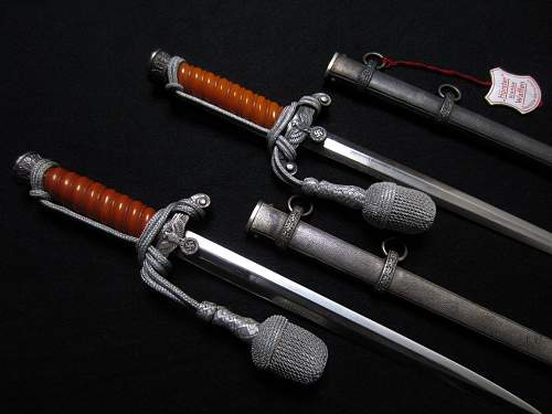 Two army daggers by Horster