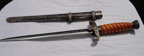 Alcoso Army Officers Dagger