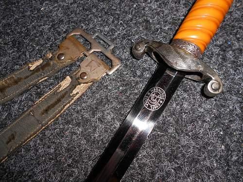 Emil Voos Army dagger