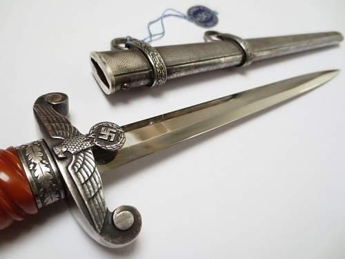 Heer dagger by C.J. Krebs