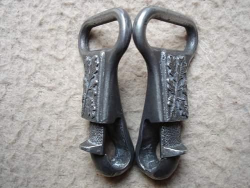 Near Perfect Heer Dagger Hanger Reproductions