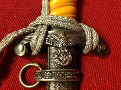 Paul Weyersburg Heers dagger