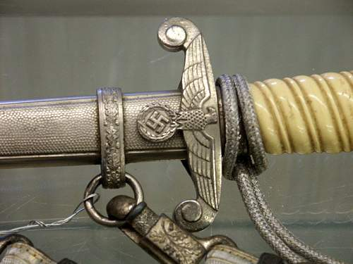 Army dagger; at the auction today