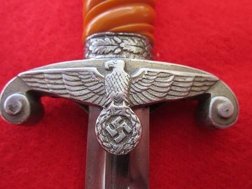 'Salty' Ernst Pack & Sohne dagger.