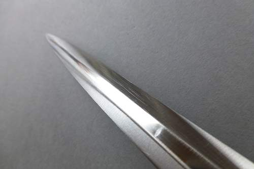 Heer dagger by Horster with Alu fittings