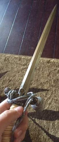 Heer Dagger with hanger and knot