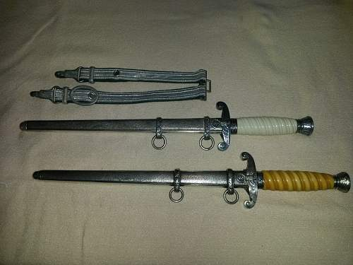 Horster and Wingen daggers (new to collecting)